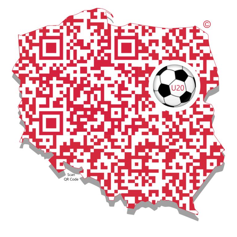 Cyfrowe Logo Polski - piłka