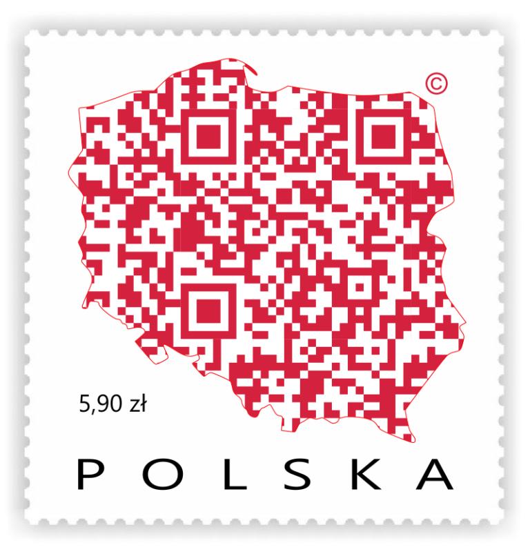 Cyfrowe Logo Polski - ZNACZEK