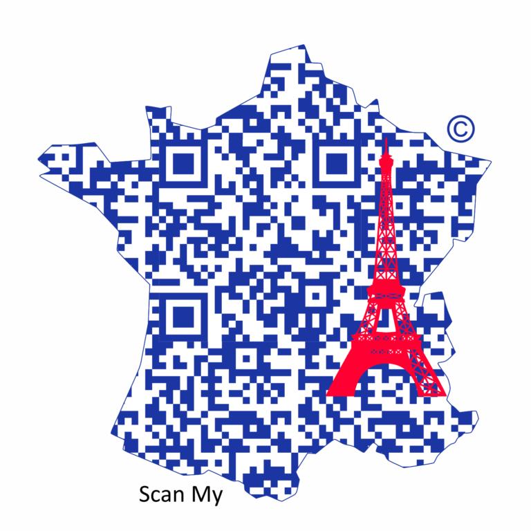 francja wieża3 QR Maps