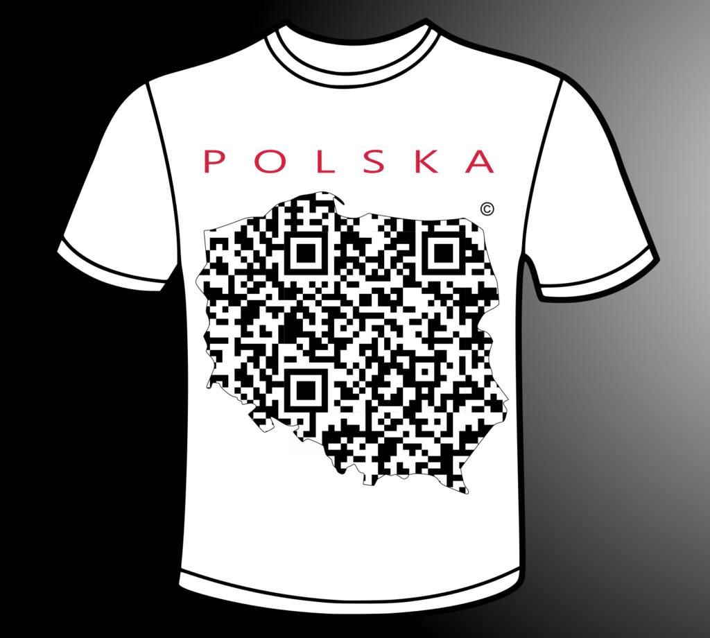Cyfrowe Logo Polski - koszulka
