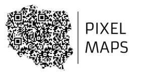 Pixel Maps™ QR Maps Trademark Poland