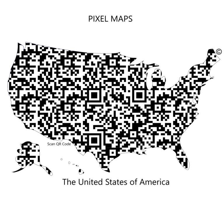 Digital USA QR Code