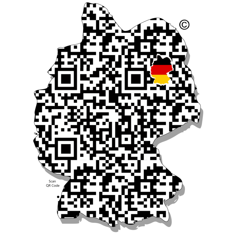 Digital_QR_Germany_Code_Country_QR Code Digital
